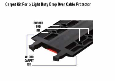 Fastlane Cable Protectors Drop-Over 1&2-Channel large image 1