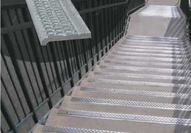 Cast Aluminum Stair Nosing large image 6