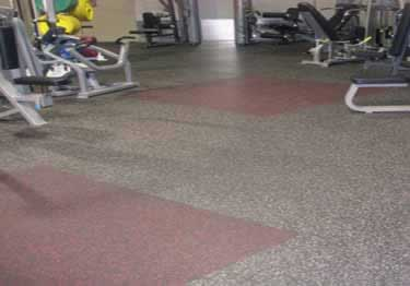 Roppe Rubber Fitness Flooring
