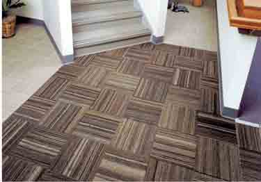 Roppe Rop-Cord Recycled Rubber Tile Flooring large image 5