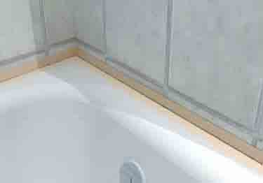 Roppe Vinyl Fillet Strips and Tub Molding