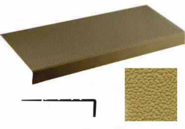 Johnsonite Rubber Stair Treads Extended Depth Hammered Surface
