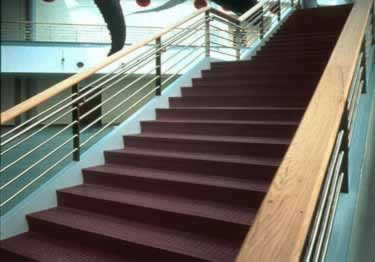 Johnsonite Rubber Stair Treads Extended Depth Hammered Surface large image 6