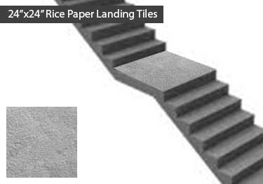 Johnsonite Stair Treads-Rice Paper Surface  large image 11