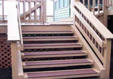 Johnsonite Service Weight Vinyl Stair Treads large image 1