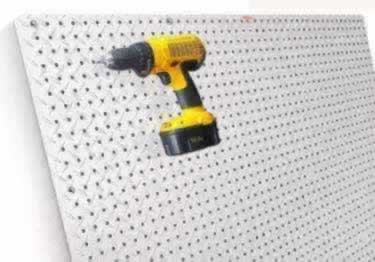 Pegboard | Diamond Plate Metal