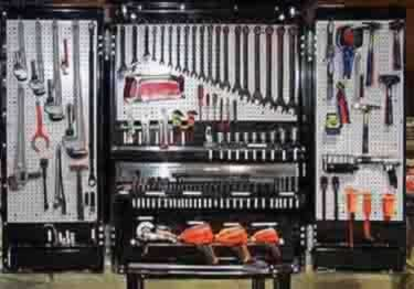 Pegboard Hooks | Chrome Plated large image 6