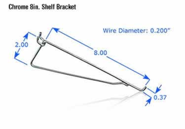 Pegboard Hooks | Chrome Plated large image 9