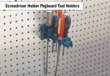 Pegboard Tool Holders and Organizers  large image 1