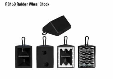 Rubber Wheel Chocks large image 1