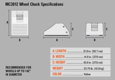 Heavy Duty Wheel Chocks large image 7