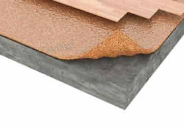 Cork Underlayment Quiet Comfort   Wood, Laminate, Bamboo Flooring