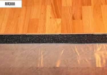 Rubber Cork Underlayment Sound Control