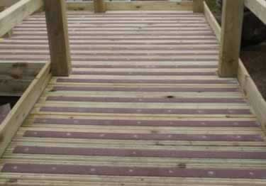 ... Anti Slip Decking Strips | Screw Down Fiberglass Large Image 10 ...