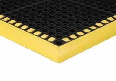 Safety TruTread Wet Anti-Fatigue Mat By Apache Mills