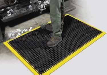 Safety TruTread Wet Anti-Fatigue Mat By Apache Mills large image 7