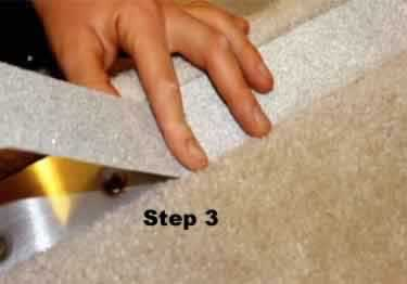 Carpet Stair No Slip Nosing large image 12