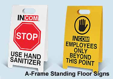 Safety Floor Signs | Anti-Slip large image 2