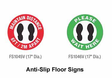 Safety Floor Signs | Anti-Slip  large image 3