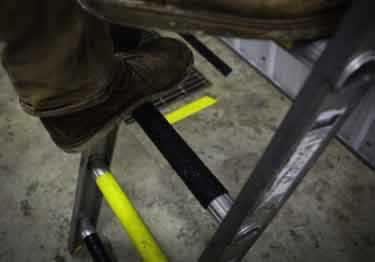 Ladder Rungs   Anti Slip Tape LavaRung