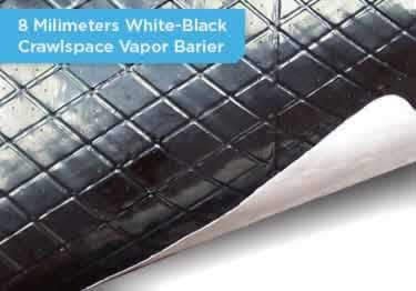 Crawl Space Vapor Barrier | Insulation large image 12