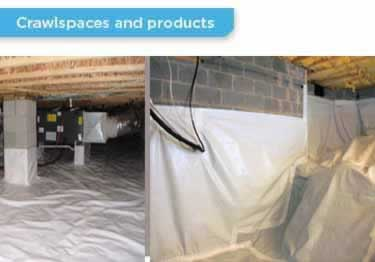 Crawl E Vapor Barrier Insulation Large Image 6