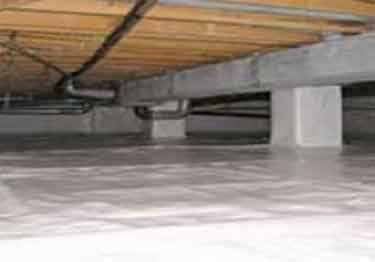 Crawl Space Vapor Barrier | Insulation