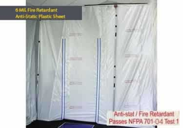 Fire Retardant Plastic Sheeting and Tapes large image 3