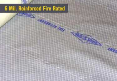 Fire Retardant Plastic Sheeting and Tapes large image 4