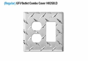Diamond Plate Switch Covers large image 12