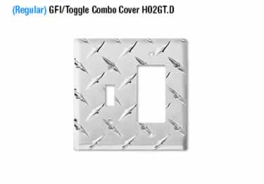 Diamond Plate Switch Covers large image 14