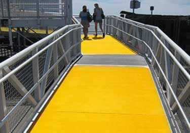 Fiberglass Walkway Covers large image 3