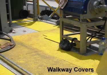 Fiberglass Walkway Covers large image 9