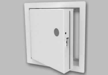 Fire Rated Access Doors | Insulated Exposed Flange by Babcock-Davis large image 5