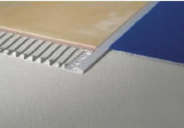 Tile Edging Reducer Trim by Blanke®