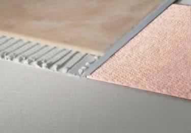 Tile Edging Aluminum Terrazzo Strip by Blanke®