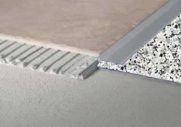 Tile Edging Adjustable Transition by Blanke®