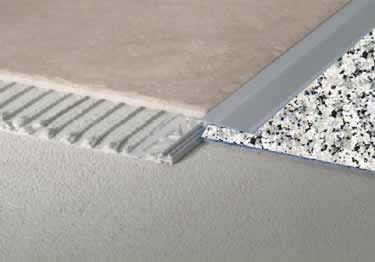 Tile Edging Adjustable Transition by Blanke®