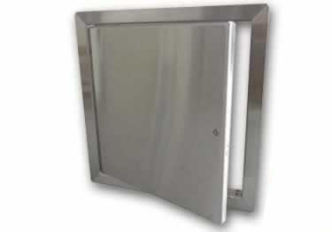 Access Doors | Fire Rated Insulated Stainless Steel Flange Drywall by Acudor