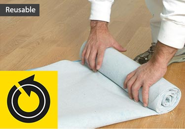 Spillproof Floor Carpet Protection Padding | Breathable large image 15