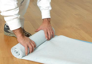 Spillproof Floor Carpet Protection Padding | Breathable large image 17