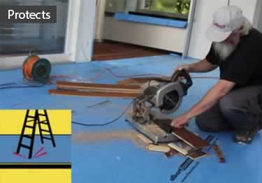 Spillproof Floor Carpet Protection Padding | Breathable   large image 3