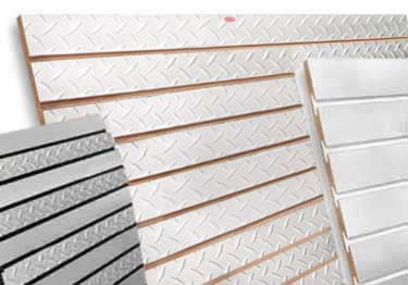 Slatwall Panels - Metal