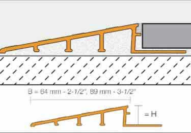 Schluter® Tile Edging | RENO Ramp and RENO Ramp K Profiles large image 6