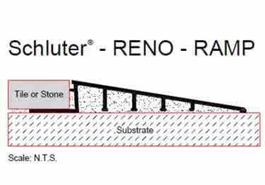 Schluter® Tile Edging | RENO Ramp and RENO Ramp K Profiles large image 9