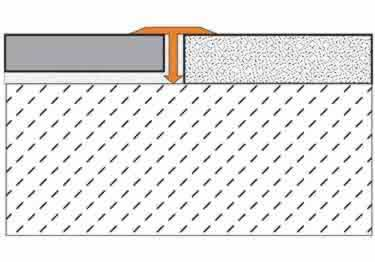 Schluter® Tile Edging - RENO-T Profile large image 7