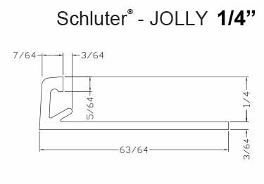 Schluter® JOLLY - Tile Edging Wall | Floor Profile large image 12