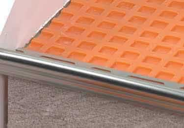 Schluter® TREP-FL Stair Nosing Profile large image 2