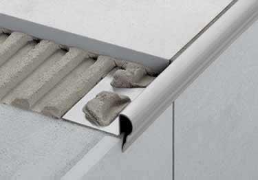 Schluter® TREP FL Stair Nosing Profile