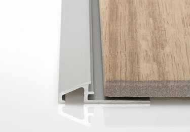 Schluter® RENO-U Tile Floor Edging Profile large image 1